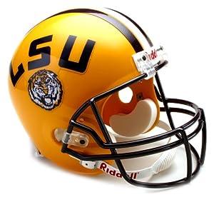 NCAA LSU Tigers Deluxe Replica Football Helmet by Riddell