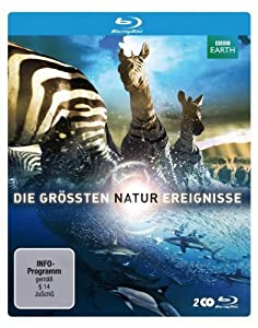 Die größten Naturereignisse (Steelbook) [Blu-ray]