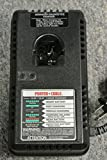 PORTER-CABLE 8621 12-Volt and 14.4-Volt Pod Style 1 Hour Battery Charger