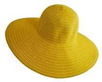 Making Great Memories Wide Brim Hat - 100% ECO Friendly (Yellow)