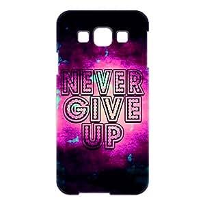 a AND b Designer Printed Mobile Back Cover / Back Case For Samsung Galaxy E5 (SG_E5_3D_855)