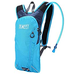 Yismeet Lightweight Hydration Pouch Backpack with 2-Liter Water Reservoir