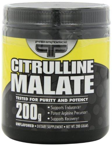 Primaforce Citrulline Malate PRIMAFORCE Citrulline Malate 200 Grams