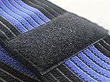 Justdolife Sprunggelenk Wrap Verstellbaren Elastischen Knöchel Bandage Band mit Klettverschluss -