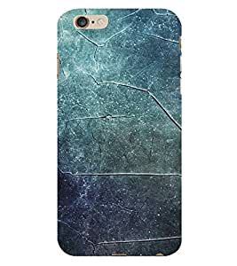 Fiobs Blue Tyles Look Phone Back Case Cover for Apple iPhone 6
