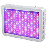 SYGAVLED 600W LED Grow Light - High Yield - Full Spectrum Indoor Hydroponic Plants Veg Bloom Panel Lamp