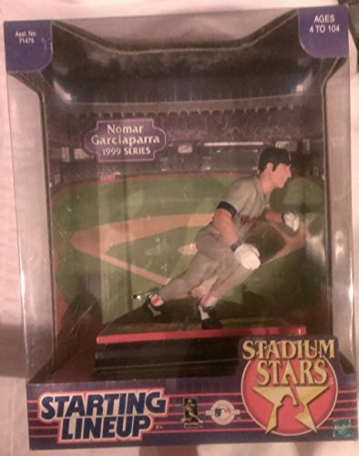 1999 MLB Starting Lineup Stadium Stars - Nomar Garciaparra - Boston Red Sox