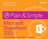img - for Microsoft SharePoint 2013 Plain & Simple book / textbook / text book