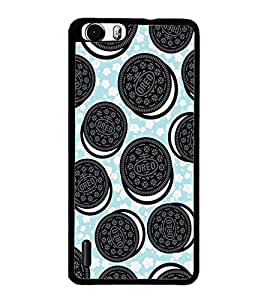 PrintDhaba Cookies D-2142 Back Case Cover for HUAWEI HONOR 6 PLUS (Multi-Coloured)