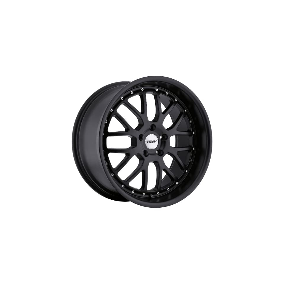 TSW VALENCIA Black Wheel (17x8/5x114mm ,+20mm offset)
