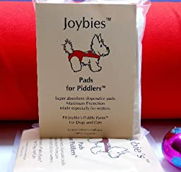 Joybies Pads for Piddlers (For Cats & Dogs) . Fits all Joybies Piddle Pants & Piddle Skirts