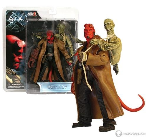 Picture of Mezco Hellboy - Trenchcoat Hellboy - Series 1 - 2004 Figure (B000VK2OWQ) (Mezco Action Figures)