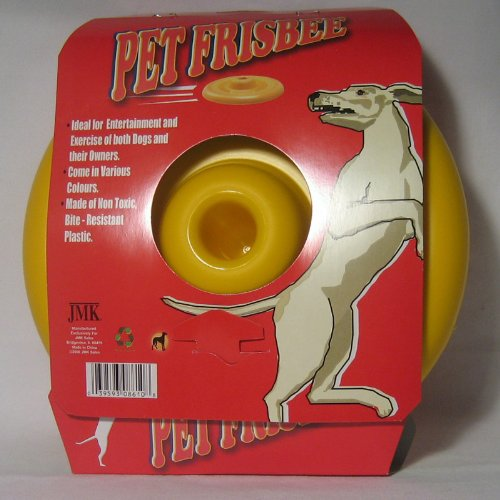 New Professional Dog Frisbee Pet Disc Toy Flyer Catcher