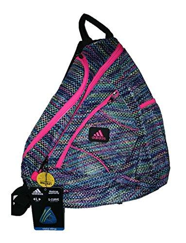 Adidas Vista Mesh Sling Bag Backpack (Large) Pink/Purple/Blue/Green/Yellow/Black