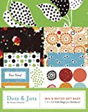 img - for Dots and Jots: Mix and Match Gift Bags (Mix and Match Stationary) book / textbook / text book