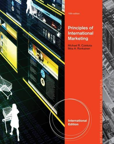 Internationales Marketing, internationale Ausgabe 10th Edition