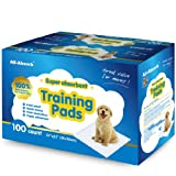 All-Absorb Training Pads for Dogs, 22-Inches x 23-Inches, 100-Count