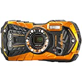 Ricoh WG-30w flame orange Digital Camera with 2.7-Inch LCD (Flame Orange)