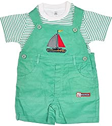 Toffy House Kids' Clothing Set (114_3-6 Months, Green, 3-6 Months)