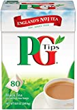 PG Tips Black Tea Pyramids, 80 ct