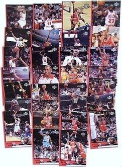 1999 Upper Deck Michael Jordan HUGE Complete 30 Card Tribute Set+Special BONUS UNC Michael Jordan Rookie Card !