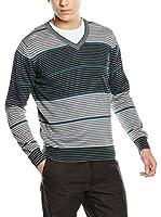 Trussardi Jeans Jersey (Gris / Verde)