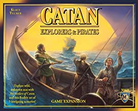 Mayfair Games Catan Explorers and Pirates Expansion Board Game