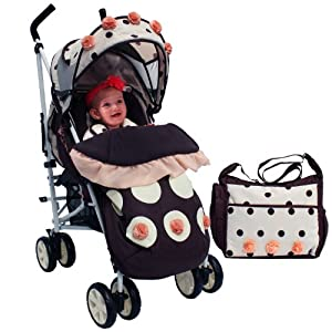 iSafe New Limited Edition Buggy Stroller Pushchair Full of Flowers
