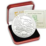 The 2013 130th Anniversary of the Orient Express .925 Proof Silver Coin
