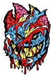 Spitfire Wheels - Brainy Zombie Skateboard Sticker - Monster Horror Scary New