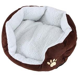 panier corbeille niche coussin maison lit amovible pour chien chat animaux taille l 60 55 22cm. Black Bedroom Furniture Sets. Home Design Ideas