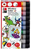 Marabu 40600123 - Window Color fun and fancy Sortierung, 10 x 25 ml