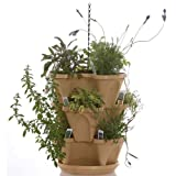 """Self Watering Stackable Planters - 3 Tier Set - Tuscany (12"""")"""