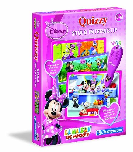 Clementoni - 62339.6 - Jeu Educatif et Scientifique - Quizzy - Minnie