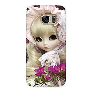 Gorgeous Angel Look Doll Back Case Cover for Galaxy S7