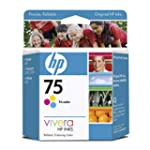 HP 75 Tricolor Inkjet Print Cartridge