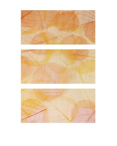 Colorful Leaves, Triptych As You See