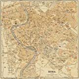 Mapa di Roma 1898 by Fiore, Lorenzo - Fine Art Print on PAPER : 18 x 18 Inches