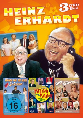Heinz Erhardt - DVD Box mit 3 DVDs [Edizione: Germania]