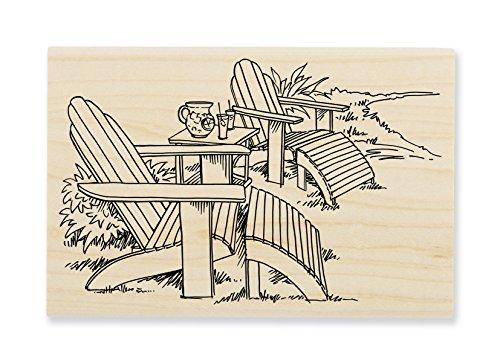 Stampendous Adirondack Pair Rubber Stamp