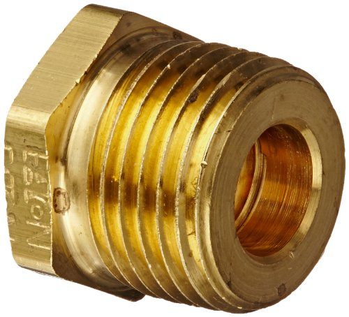 "Eaton Weatherhead 3220X8X4 Brass Ca360 Fitting, Bushing, 1/4"" Npt Female X 1/2"" Npt Male front-509283"