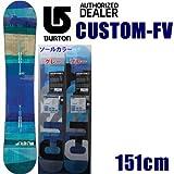 BURTON バートン 13-14 CUSTOM-FV 151cm カスタムフライングブイ BURTON 13-14 スノーボード バートン 板 2014