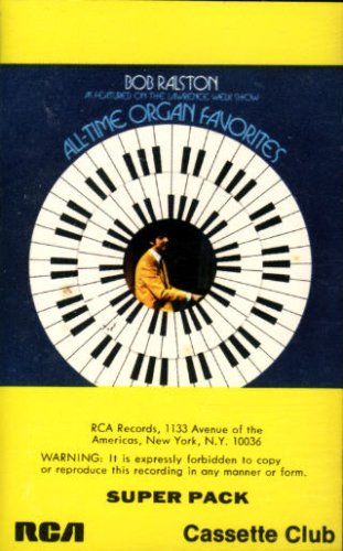 All-Time Organ Favorites, Vol. 1 [Super Pack Audio Cassette - Equivalent To Two Records]