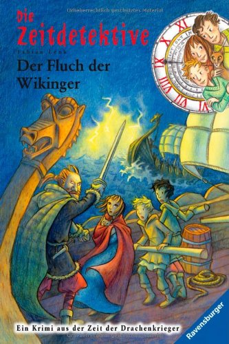 Die Zeitdetektive 24: Der Fluch der Wikinger, Buch