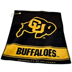 Buy Colorado Buffaloes Woven Towel from Team Golf by Team Golf