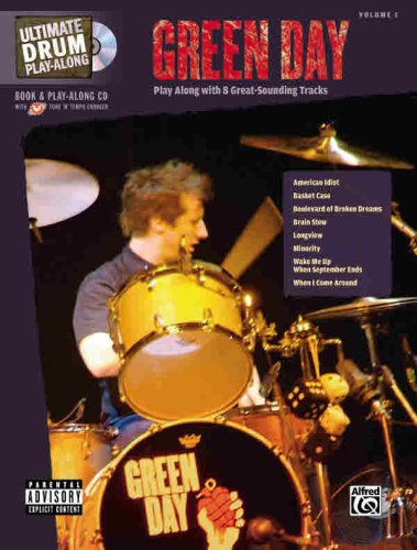 Ultimate Drum Play-Along: Green Day (Book & CD)