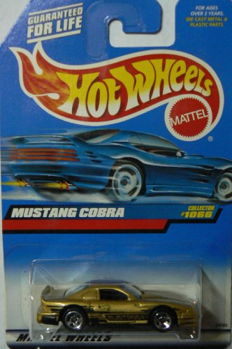 Hot Wheels Gold Mustang Cobra 1066 1998 - 1