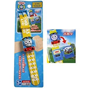 Thomas the Train Die Cut Kids Digital Wrist Watch Wristwatch Gift Japan