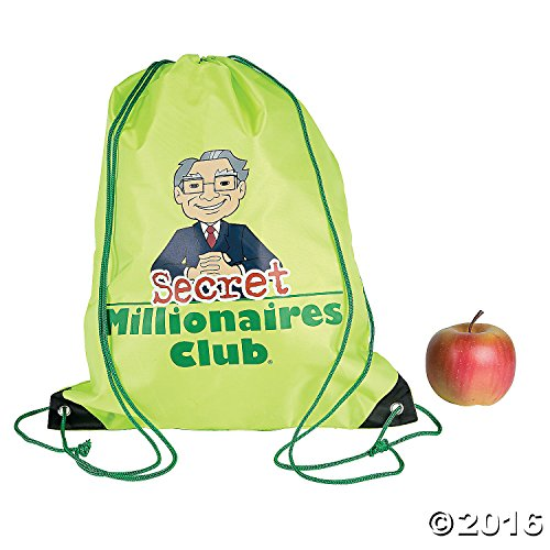 Secret Millionaires Club8482; Drawstring Backpacks