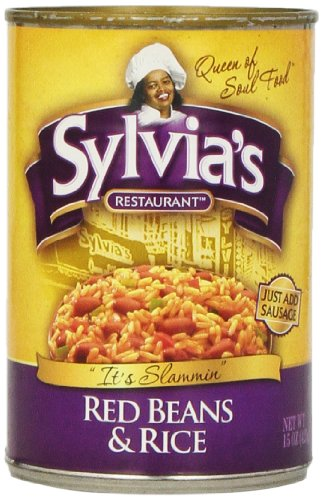 Sylvia'S Red Beans & Rice, 15-Ounce Cans (Pack Of 12)
